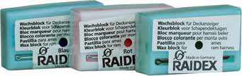 Wachsblock Raidex GRÜN